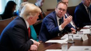 Conservatives Support Mick Mulvaney