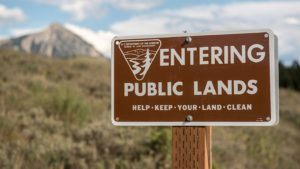 Conservatives Oppose the Federal Land Grab in S. 3422