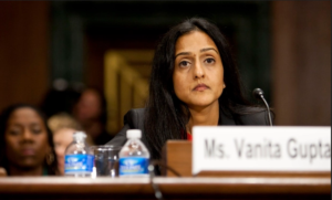 The Senate must stop Vanita Gupta<br><small>anti-police radical with ties to extreme leftist groups should not become third highest ranking official at the Department of Justice</small>